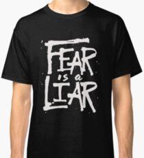 Fear is a Liar - Inspirational Christian Classic T-Shirt