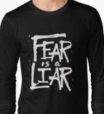 Fear is a Liar - Inspirational Christian T-Shirt
