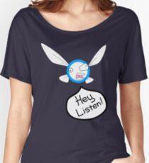 Hey Listen! Women's Relaxed Fit T-Shirt