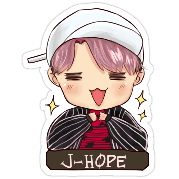 Quot Jhope Quot Not Today Quot Quot Stickers By Taekuyaki Redbubble