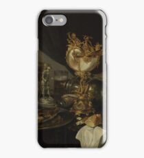 Gerrit Willemsz. Heda - Still Life With A Nautilus Cup iPhone Case/Skin