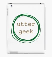 Utter Geek iPad Case/Skin