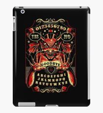 Spirit Board, Lowbrow Punk ,Devil, skulls, Gothic, Skeleton, Bones,evil, occult, pagan,  iPad Case/Skin