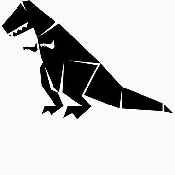 Tee Rex Black by Kidestro