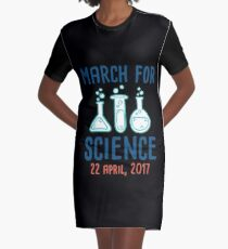 Cool Unless March for Science Earth Day Tshirt T-Shirt Kleid
