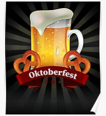 Oktoberfest Beer Festival German Drinking Party  Poster