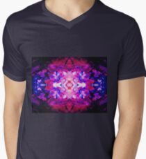 Kaleidoscope Dreams - Abstract Rose ( COLOR REQUESTS WELCOME )  Mens V-Neck T-Shirt
