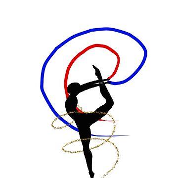 Pride Artwork: Ballerina: Polyamorous Pride by hillyhale