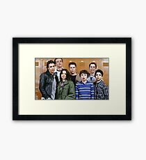 Freaks and Geeks poster Framed Print