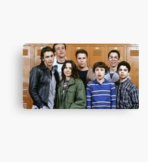 Freaks and Geeks poster Canvas Print