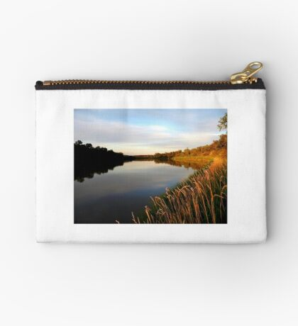 Autumn on the Assiniboine At Dusk... Studio Pouch