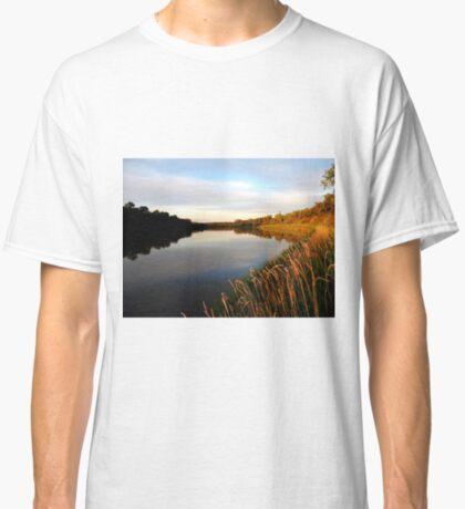 Autumn on the Assiniboine At Dusk... Classic T-Shirt