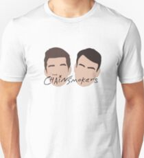The Chainsmokers Faces illustration Unisex T-Shirt