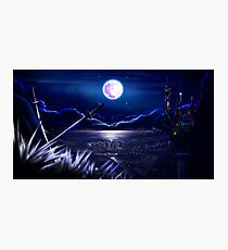 The Sound of Moonlight Photographic Print