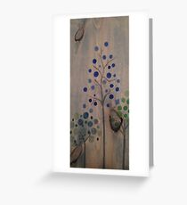 mulberry  Greeting Card