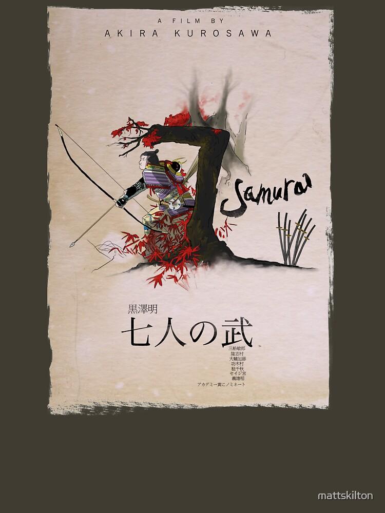 Seven Samurai by mattskilton