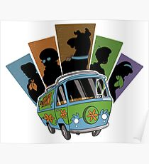 The Mystery Machine Poster
