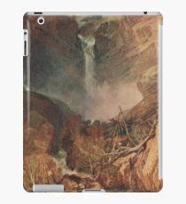 The Reichenbach falls by J M W Turner iPad Case/Skin