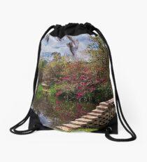 Side of the Pond Drawstring Bag