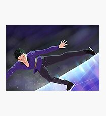 On The Blades - Yuri!!! On Ice Photographic Print