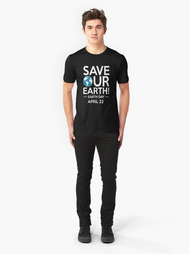 Alternative Ansicht von Cool Unless March for Science Earth Day Tshirt Slim Fit T-Shirt