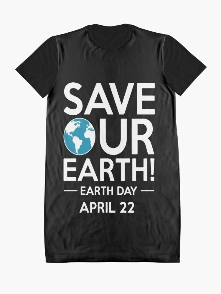 Alternative Ansicht von Cool Unless March for Science Earth Day Tshirt T-Shirt Kleid