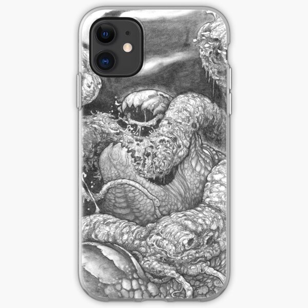 Yggdrasil and Nidhogg iPhone Soft Case