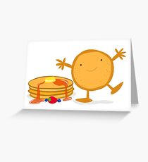 Pancakes Greeting Card