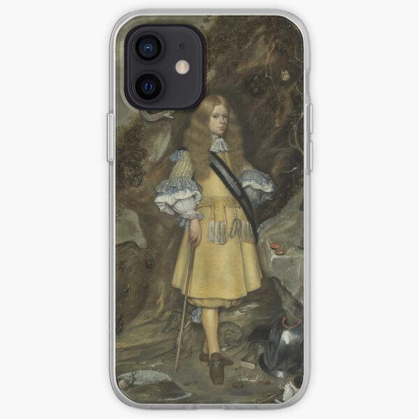 Gerard Ter Borch - Memorial Portrait Of Moses Ter Borch, 1669 iPhone Soft Case