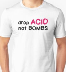 Psychedelic Hippie Peace Love Inspirational Anti-War Riot T-Shirts T-Shirt
