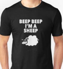 Beep Beep I'm a Sheep Tomska Funny Tee Shirt Unisex T-Shirt