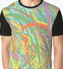 pattern of lines Graphic T-Shirt