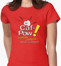 Caf-Pow - X-Treme Caffeine Original Womens Fitted T-Shirt