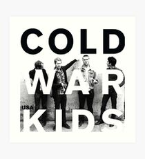 cold war kids Art Print