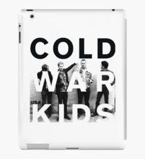 cold war kids iPad Case/Skin