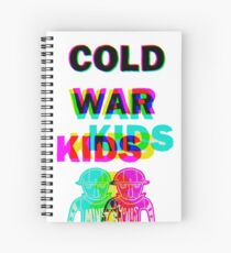 cold war kids Spiral Notebook