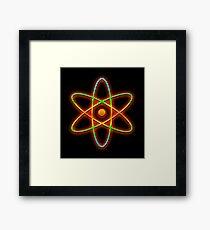 Atomic. Framed Print