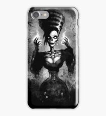 Zombie Pinup, Rockabilly, Lowbrow art, Art Print,Kustom Art, Lowbrow Art,Hot Rod Art iPhone Case/Skin