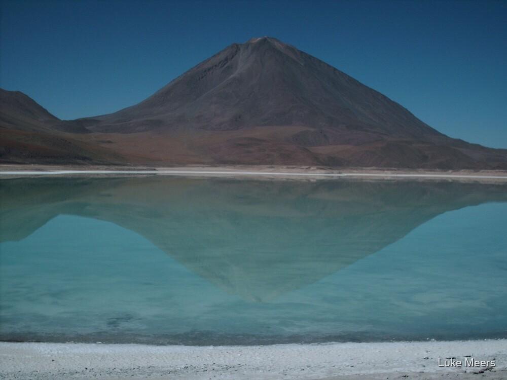 Laguna Verde, Bolivia by Luke Meers