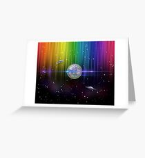 New Earth 5D Greeting Card