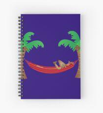 Reindeer Chillaxing Spiral Notebook