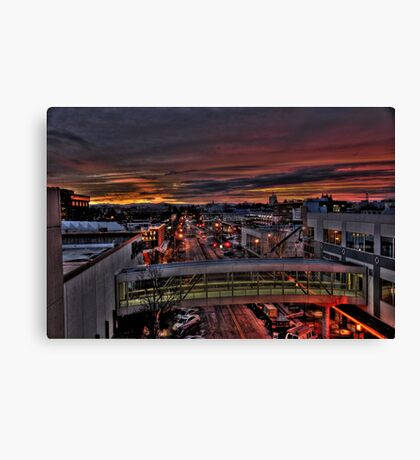 Early Morning Salem Oregon Canvas Print