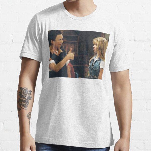 Cory and Topanga // Boy Meets World Essential T-Shirt