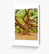 The Ancient One by Sarah Kirk Greeting Card