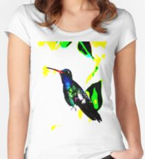Blue Hummer Women's Fitted Scoop T-Shirt