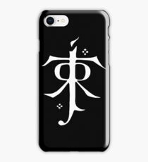 Tolkien symbol iPhone Case/Skin
