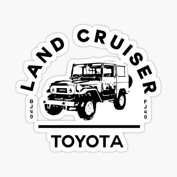 Toyota Land Cruiser BJ40 Sticker
