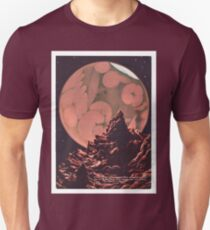 Vintage Mars Science Fiction Canals T-Shirt