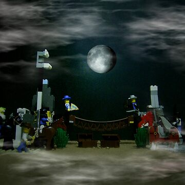The Fullmoon Battle At LEGOLand by carlo