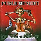 Public Enemy Muse Stick-N-Stunde Mess Alter Retro von Tate Gibbs